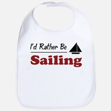 Rather Be Sailing Bib