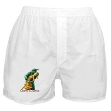 Liberty & Justice Together Boxer Shorts