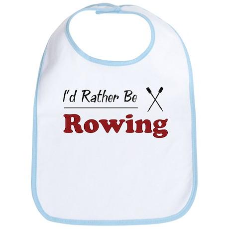 Rather Be Rowing Bib