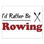 Rather Be Rowing Small Poster