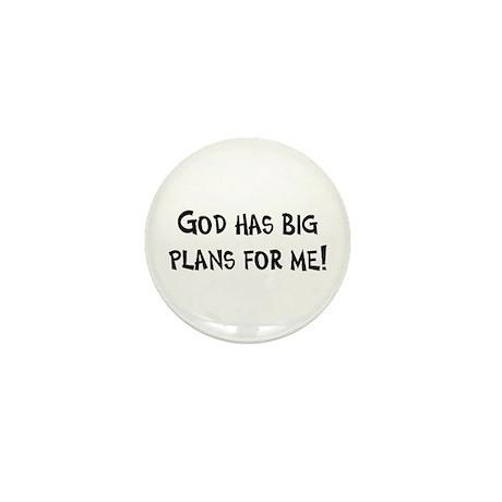 God's Plan for Me Mini Button