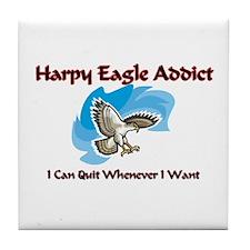 Harpy Eagle Addict Tile Coaster