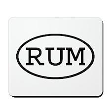 RUM Oval Mousepad