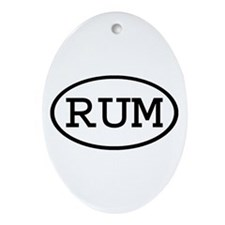 RUM Oval Oval Ornament