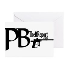 PB Theft Report Greeting Cards (Pk of 10)