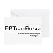 PB Theft Report Greeting Cards (Pk of 20)