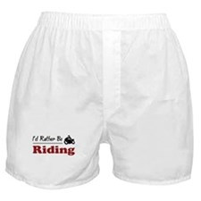 Rather Be Riding Boxer Shorts