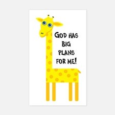 Cute Christian Rectangle Decal