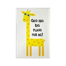 Cute Christian Rectangle Magnet