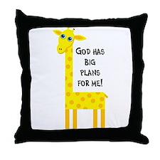 Cute Christian Throw Pillow