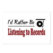 Rather Be Listening to Records Postcards (Package