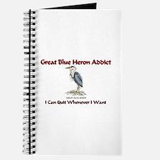 Great Blue Heron Addict Journal