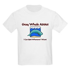 Gray Whale Addict T-Shirt