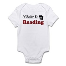 Rather Be Reading Infant Bodysuit