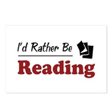 Rather Be Reading Postcards (Package of 8)