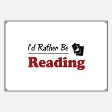 Rather Be Reading Banner