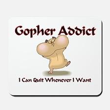 Gopher Addict Mousepad