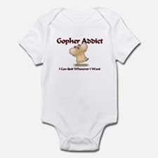 Gopher Addict Infant Bodysuit