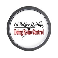Rather Be Doing Radio Control Wall Clock