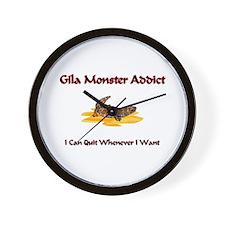 Gila Monster Addict Wall Clock
