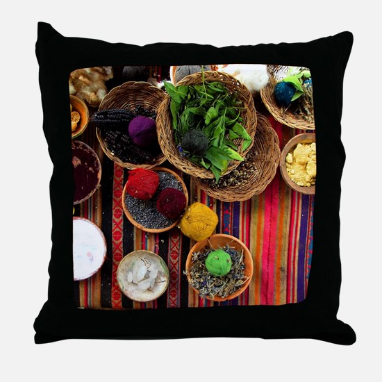 Funny Cusco Throw Pillow