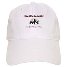 Giant Panda Addict Baseball Cap