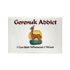 Gerenuk Addict Rectangle Magnet