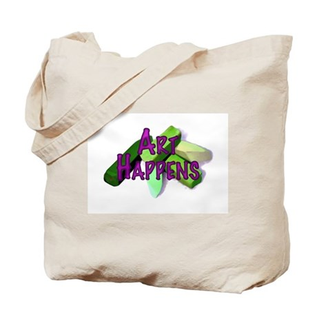 Art Happens Pastels Tote Bag