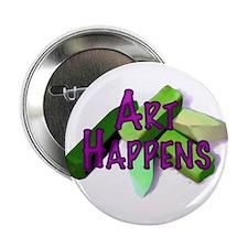 """Art Happens Pastels 2.25"""" Button (10 pack)"""