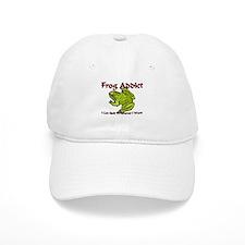 Frog Addict Baseball Cap
