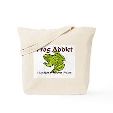 Frog Addict Tote Bag