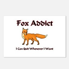 Fox Addict Postcards (Package of 8)