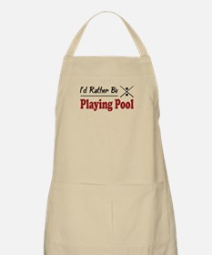 Rather Be Playing Pool BBQ Apron