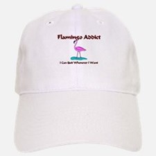 Flamingo Addict Baseball Baseball Cap