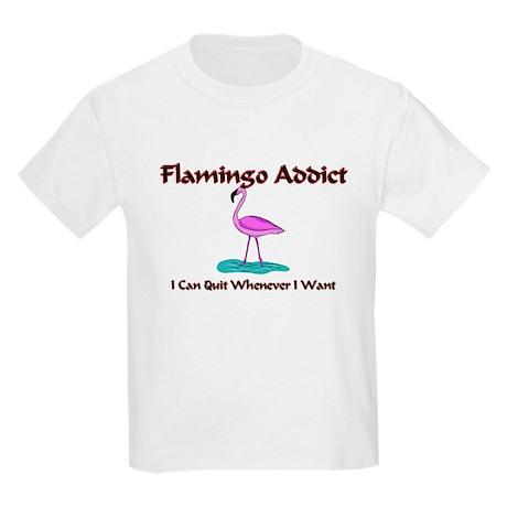 Flamingo Addict Kids Light T-Shirt