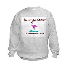 Flamingo Addict Sweatshirt