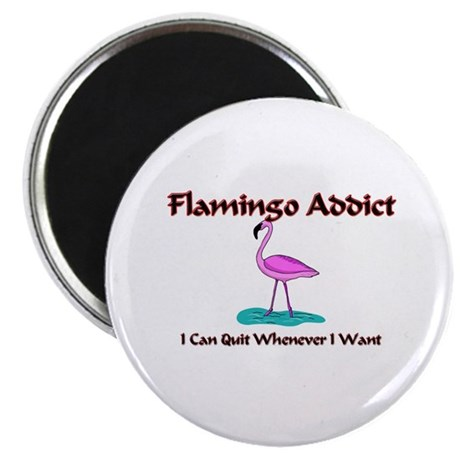 Flamingo Addict Magnet