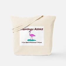 Flamingo Addict Tote Bag