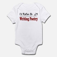 Rather Be Writing Poetry Infant Bodysuit