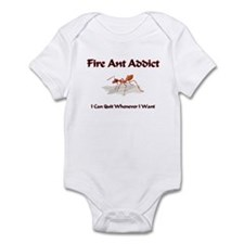 Fire Ant Addict Infant Bodysuit