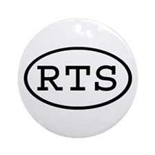 RTS Oval Ornament (Round)