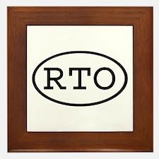 RTO Oval Framed Tile