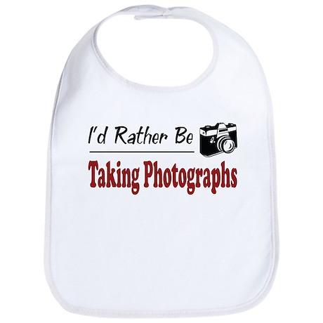 Rather Be Taking Photographs Bib
