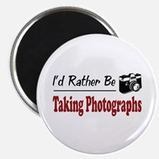 Rather Be Taking Photographs Magnet