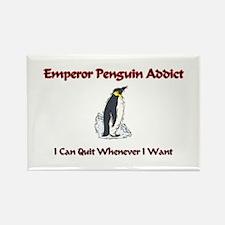 Emperor Penguin Addict Rectangle Magnet