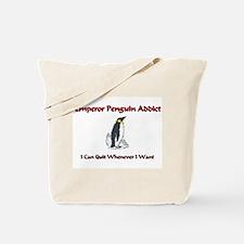 Emperor Penguin Addict Tote Bag