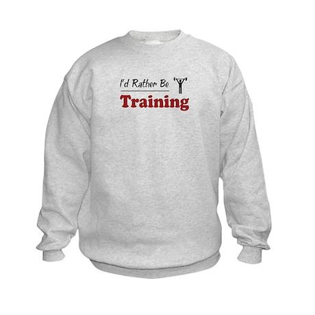 Rather Be Training Kids Sweatshirt