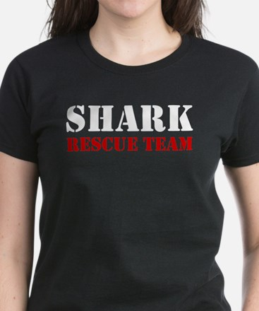Shark Rescue Team Women's Dark T-Shirt
