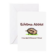 Echidna Addict Greeting Cards (Pk of 10)