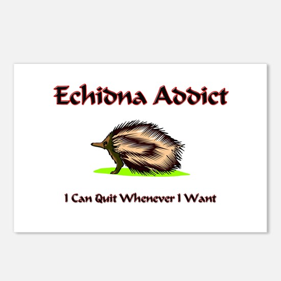 Echidna Addict Postcards (Package of 8)